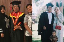Tak lupa pendidikan, 5 seleb pria ini lanjutkan kuliah usai menikah