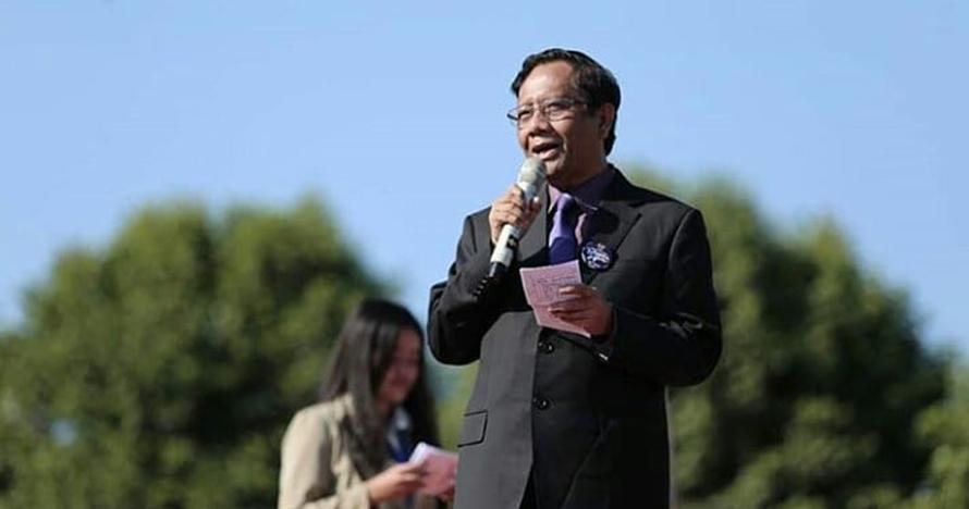 Ini ucapan pertama Mahfud MD saat tahu Jokowi pilih Ma'ruf Amin