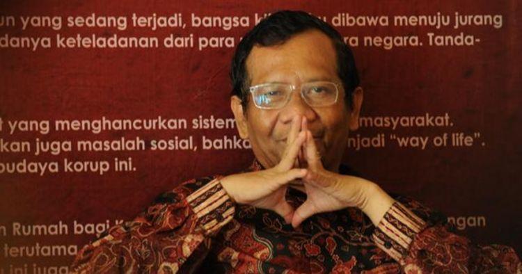 Ini 5 ungkapan hati Mahfud MD pasca batal dipinang Jokowi, bikin adem
