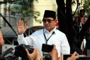Prabowo-Sandi daftar ke KPU, malah teriakan 'Hidup AHY' yang menggema