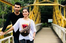 10 Aksi memukau Abid Zia di lintasan balap, calon suami Raya Kitty