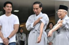 Dampingi Jokowi tes kesehatan, begini celetukan Kaesang Pangarep