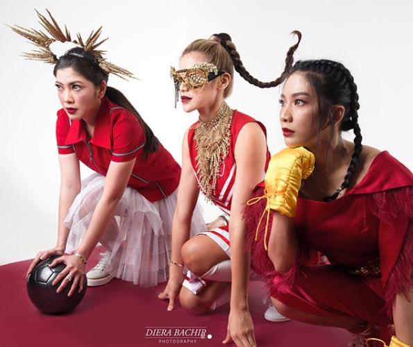 Girls Squad Asian Games © 2018 instagram.com/dierabachir