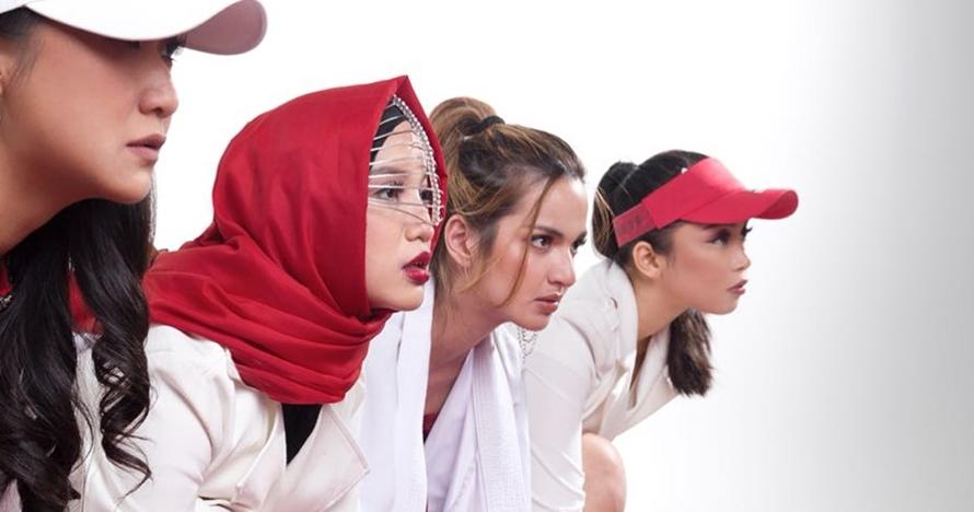 Girl Squad pemotretan tema AG 2018, pose Chacha Frederica tuai protes