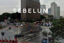 5 Transformasi Simpang Sarinah-Thamrin yang makin kece, bak di Jepang