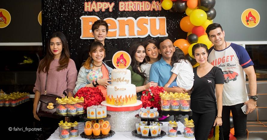 9 Momen meriah ulang tahun Ruben Onsu, dihadiri banyak selebriti top