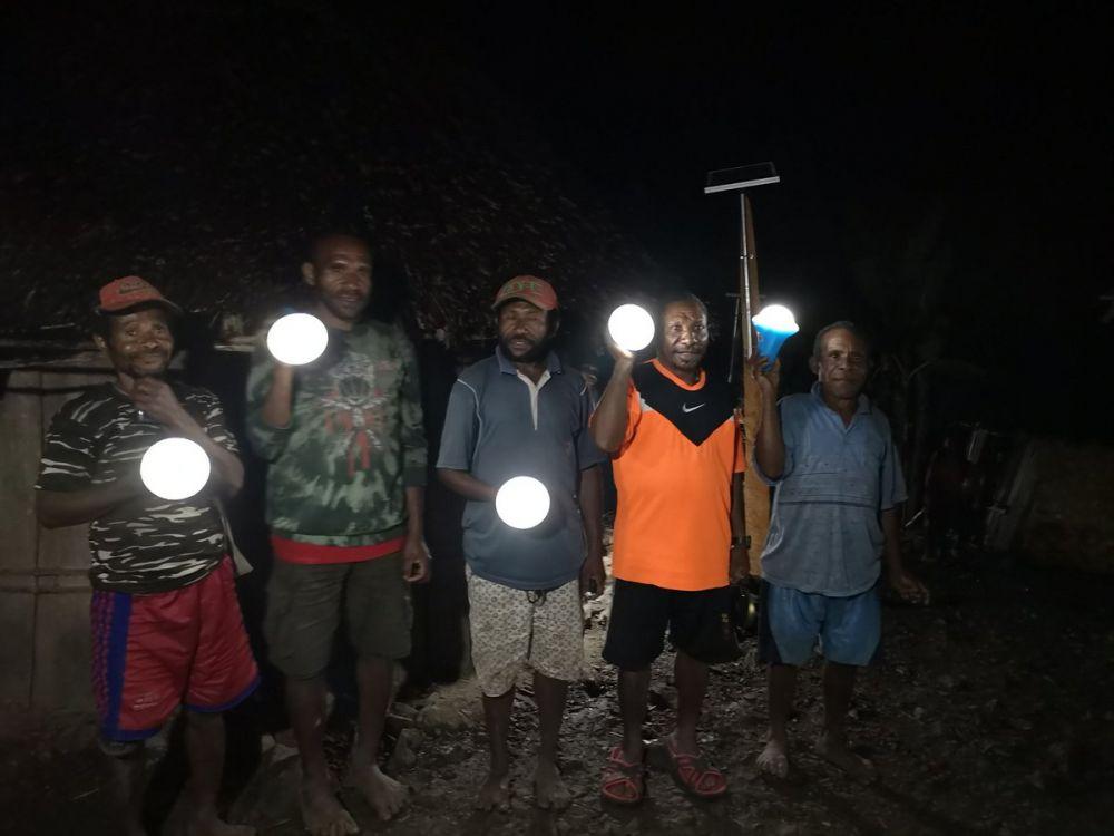 Pulau Puldama ada listrik  © 2018 brilio.net