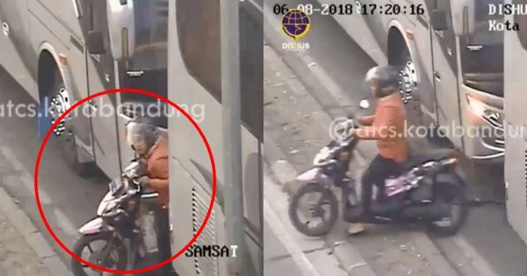 Tilang ibu pelanggar lalu lintas, sindiran operator CCTV ini kocak pol