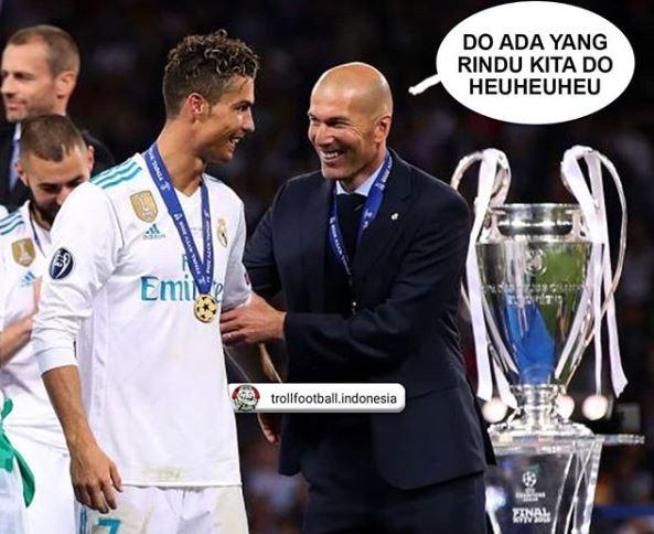 8 Meme gokil meratapi kekalahan telak Real Madrid di Piala Super Eropa © 2018 brilio.net