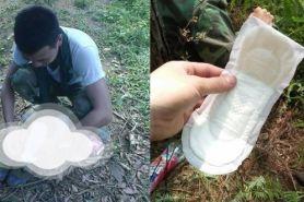 Trik tentara lindungi kaki pakai pembalut ini kreatif banget