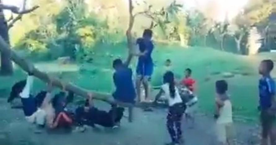 Permainan anak-anak ini tampak biasa tapi endingnya ngeri-ngeri sedap