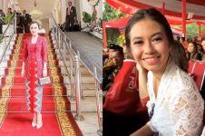 Intip busana 16 seleb saat hadiri upacara HUT ke-73 RI, kental budaya