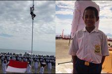 5 Apresiasi untuk bocah pemanjat tiang bendera, diundang Jokowi