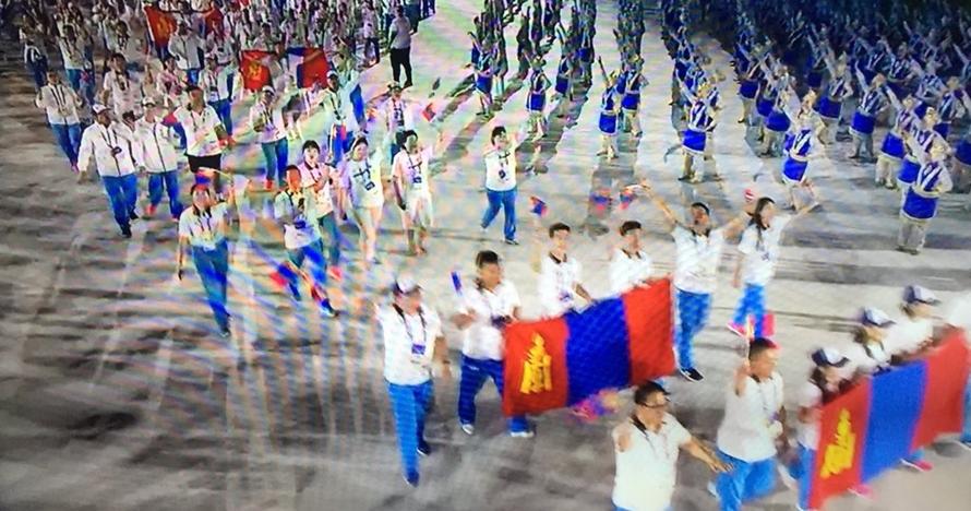 Ikon tim Mongolia di pembukaan Asian Games ini jadi sorotan, unik abis