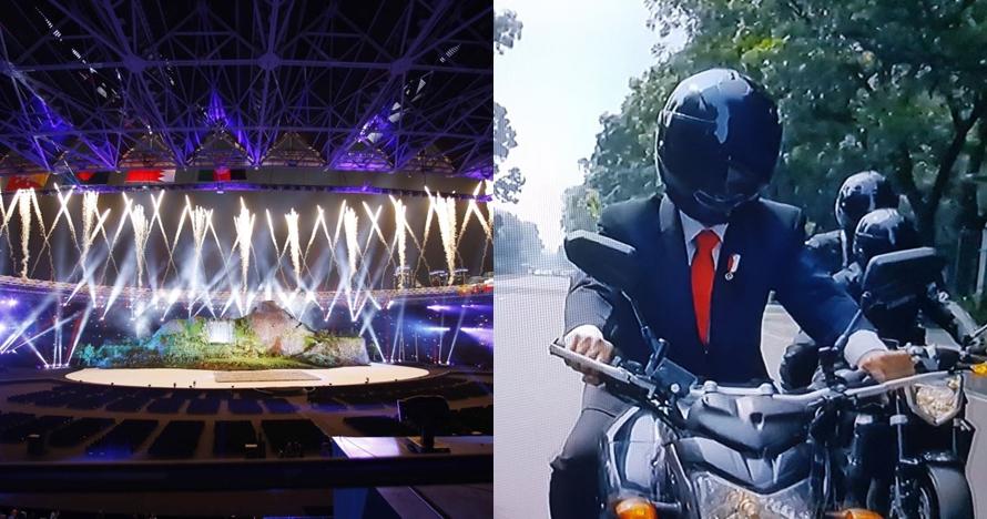 6 Cuitan kocak respons pembukaan Asian Games jadi trending di Korsel