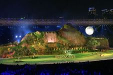 Deretan fakta unik di balik panggung megah pembukaan Asian Games 2018