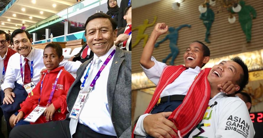 5 Momen Joni si pemanjat tiang bendera di pembukaan Asian Games 2018