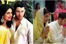 Sakral, ini 8 potret upacara pertunangan Priyanka Chopra & Nick Jonas