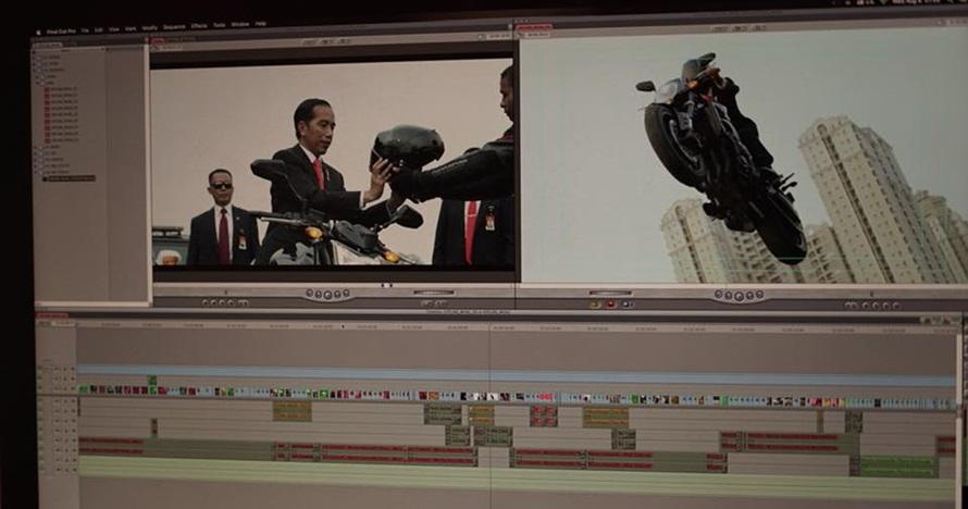 Ini sosok editor video aksi Jokowi dalam pembukaan Asian Games 2018