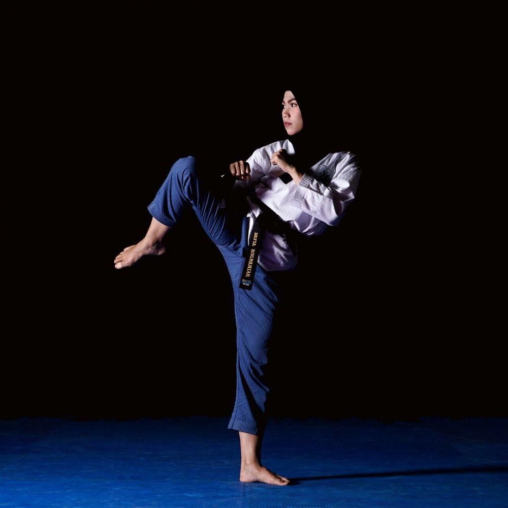defia taekwondo © Instagram/@defiarosmaniar