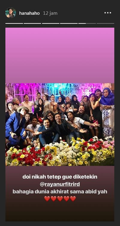 Momen pernikahan Raya Kitty  © 2018 brilio.net