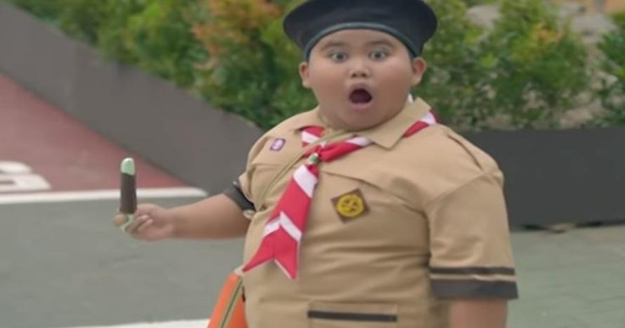 10 potret menggemaskan Fairel, bocah melongo saat Jokowi naik moge