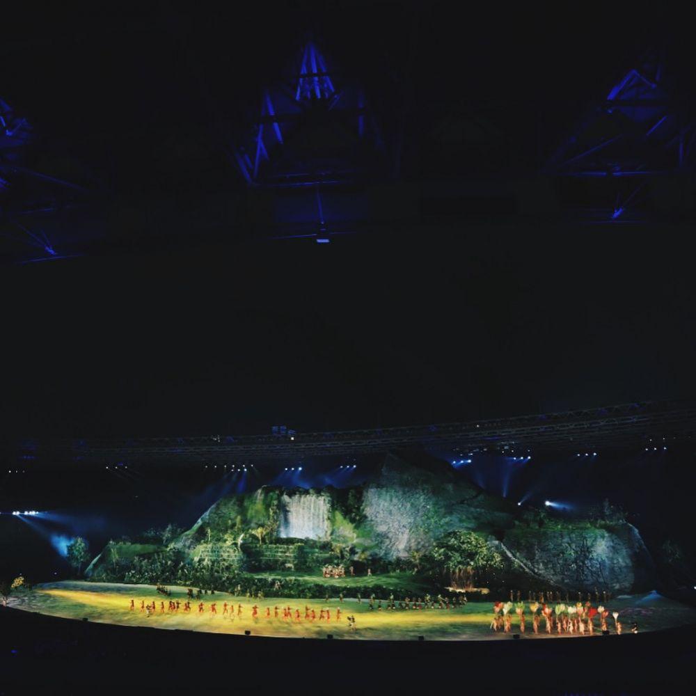 sosok di balik panggung asian games © Instagram