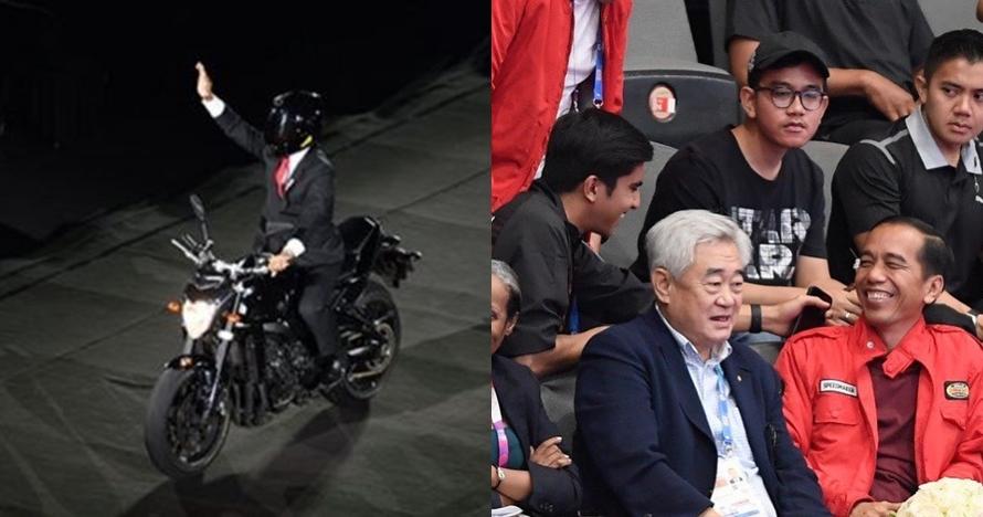 Viral aksi Jokowi naik motor, ini komentar Menteri Olahraga Malaysia