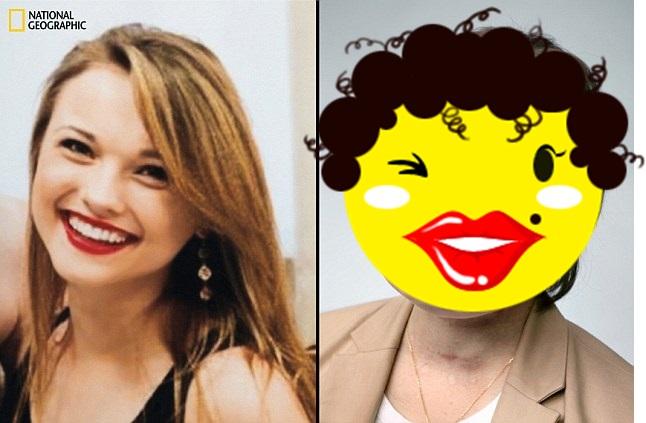 Tembak wajah sendiri & tak mati, begini potret wajah baru gadis ini