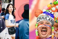 11 Potret suporter Asian Games 2018 yang mencuri perhatian