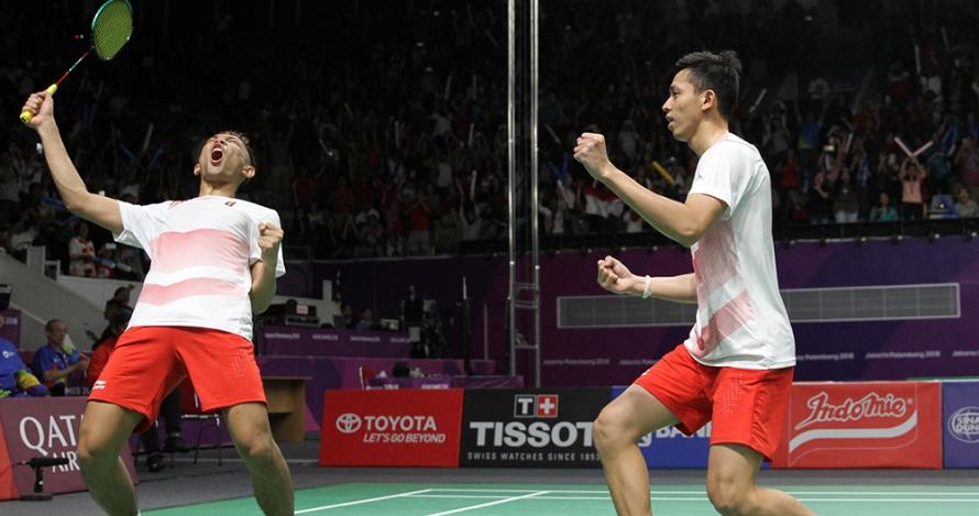 Badminton putra lolos ke final, menuntaskan penantian panjang 16 tahun