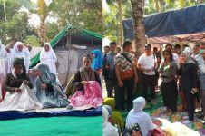 9 Momen Menteri Susi rayakan Idul Adha bareng korban gempa di Lombok
