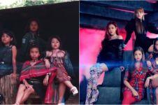 Aksi 4 bocah parodikan musik video Blackpink, low budget tapi keren
