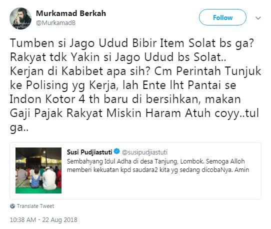bijak Menteri Susi © 2018 Istimewa