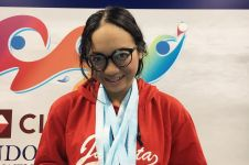 11 Potret Naima Syeeda, atlet renang indah di AG sepupu Acha Septriasa