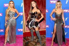 7 Inspirasi gaun silver dari seleb VMA MTV 2018, glamor dan seksi