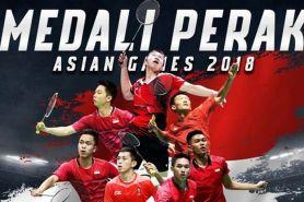 Kalah dari China di final, tim bulutangkis putra Indonesia raih perak