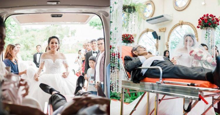 Kisah haru ayah pengidap kanker wujudkan mimpi anaknya untuk menikah