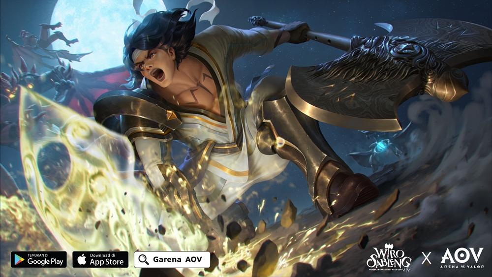 Karakter Wiro Sableng ada di AOV, pengisi suaranya bikin penasaran
