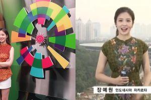 10 Pesona Jang Ye-won, reporter cantik Korea Selatan di Asian Games