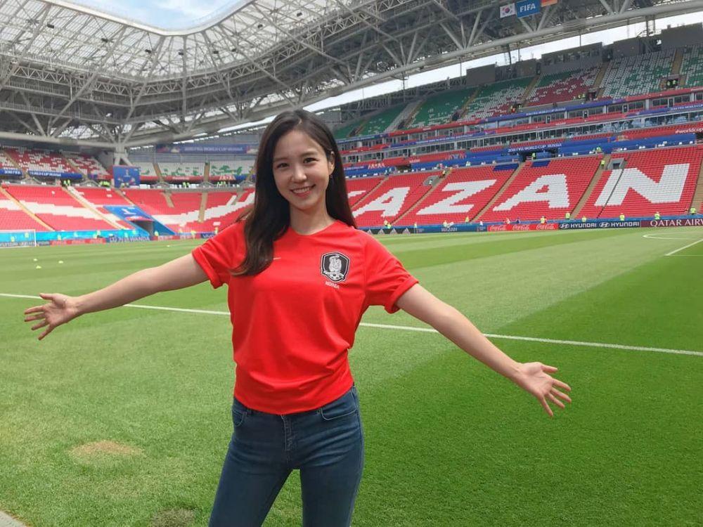 reporter sbs asian games © Instagram/@yewon0714