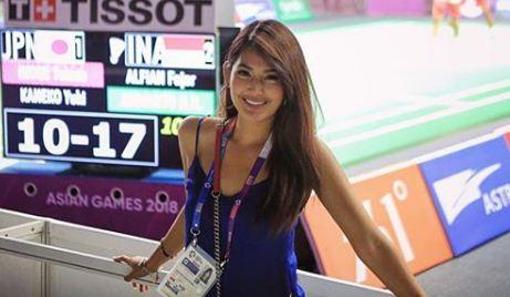 Maria Selena unggah foto bareng atlet, sosoknya jadi sorotan