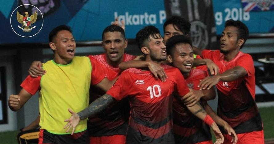 Dahsyat, Indonesia samakan kedudukan di menit injury time