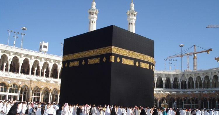 Ini momen penggantian kiswah Kabah saat hari Arafah, jarang orang tahu