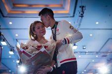 Atlet Asian Games 2018 ini lamar pacar usai raih medali, so sweet abis