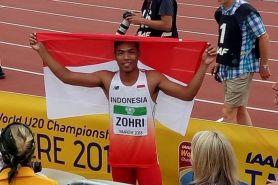 Jadwal Indonesia di Asian Games 25 Agustus, Zohri turun di dua nomor