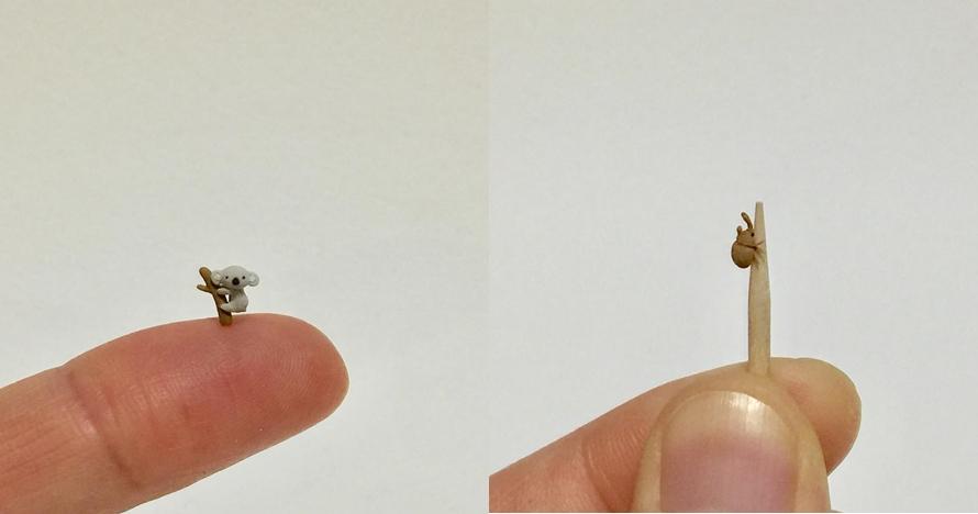 10 Miniatur hewan ini besarnya 5 mm, detailnya sungguh mengagumkan