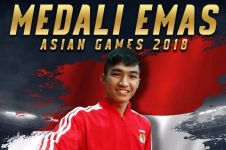 Bangga, karateka Rifki Ardiansyah Arrosyid sumbang medali emas ke-11
