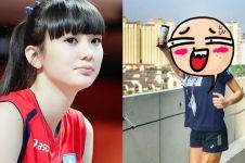 Tak ada Sabina, pevoli cantik Kazakhstan ini ganti curi perhatian