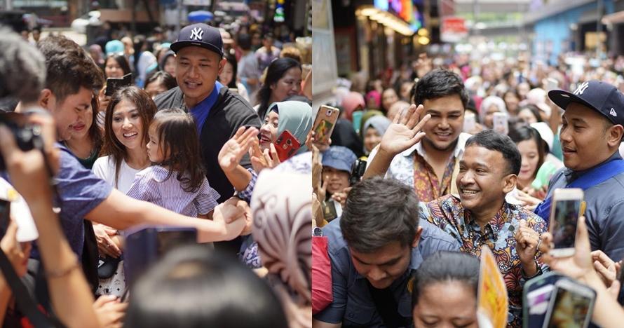 10 Momen heboh pembukaan gerai geprek Ruben Onsu di Hong Kong